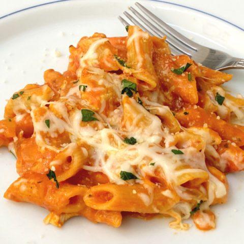 chicken parmesan skillet dinner