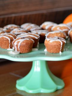 pumpkin mini muffin bites